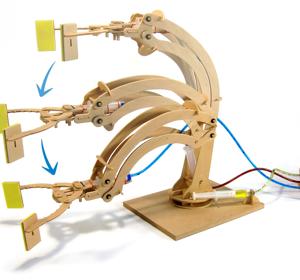 get-smart-ismanieji-zaislai-hidrauline-roboto-ranka-konstruktorius-nr2
