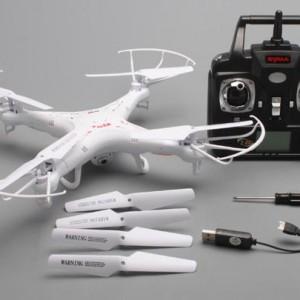 get-smart-ismanieji-zaislai-dronas-syma-x5c-su-vaizdo-kamera-2mp-po-lauka-ar-namus-nr2